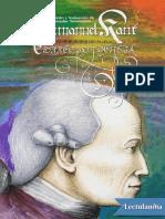 Immanuel Kant - Corrrespondencia