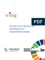 SDG's in BBC meerjarenplanning