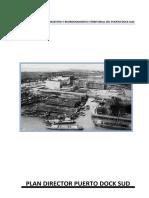 Plan Director Portuario Dock Sud