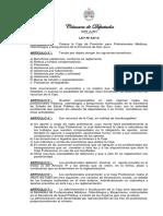 LP-447-S-2014 Caja de Previsión Para Profesionales Médicos, Odontólogos y Bioquímicos