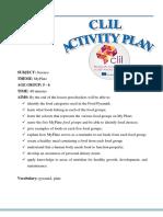 CLIL Activity Plans