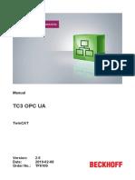 Beckhoff - OPC - Tf6100 Tc3 Opc-ua En