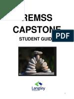 remss capstone guide