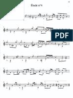 Sor - Etude - Op.44 n.4