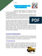 EL CAMBIANTE MUNDO DEL MTTO MANTENIMIENTO INDUSTRIAL.DOC