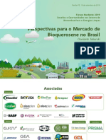 Apresentação perspectivas para o mercado de bioquerosene no Brasil