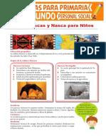 Culturas Paracas y Nasca Para Niños Para Segundo Grado de Primeria Compressed