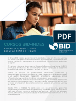 Catalogo Cursos BID INDES