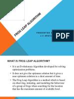 1.Frog Leap Algorithm