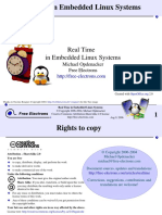 Embedded Linux Realtime