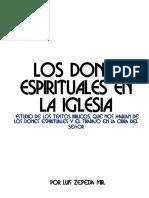 Los Dones en La Iglesia Del Señor (2018)