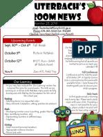 september 23 2019 newsletter