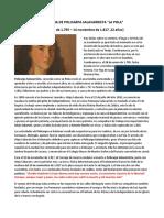 Biografia de Policarpa Salavarrieta