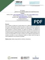 Calidad de la energía eléctrica en una institución pública de la ciudad Encarnación,  Paraguay