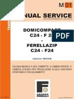 Ferroli Domicompact Ferrellazip c24 f24
