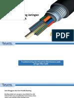 5-Troubleshooting Jaringan Fiber Optik & Praktek