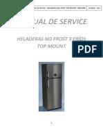 Hel. Siam 3 Fríos Con Termostato Danfoos HSI-FTS2 - Manual de Servicio