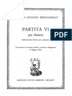Brescianello - Partita n.6