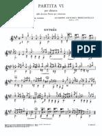Brescianello - partita n.6 - entrée