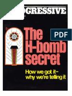 1979.11 the H-Bomb Secret Progressive