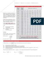 factori-corectie-putere-termica-radiatoare