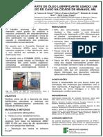 Banner análise agua