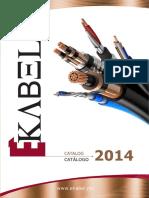 Catalogo Ekabel 2014