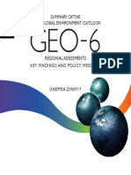 -Summary of the Sixth Global Environment Outlook GEO-6 Regional Assessments Key Findings and Policy Messages UNEP EA2 INF 17-2016GEO-6 Summary en.p
