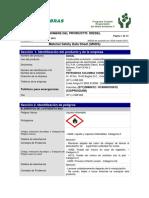 Hoja de seguridad DISEL Petrobras.pdf