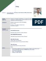Micro Finance Imran Cv