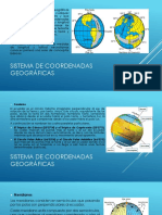 Sistema de coordenadas y proyecciones