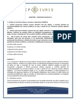 Questoes Comentadas - CP Iuris - Questoes Processo Coletivo II