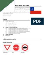Anexo Señales de Tráfico en Chile