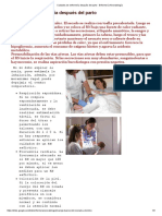 Cuidados de Enfermería Después Del Parto - Enfermería Neonatología