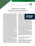 Epistemologías Del Sur y Odontología