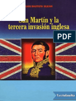 San Martin y la 3ra Invasion Inglesa