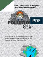 Air pollution ppt