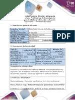 Guía de Actividades y Rúbrica de Evaluación - Escenario 1 - Contextualización