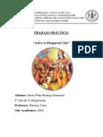 Trabajo Historia de Las Religiones - Bhavagad Gita