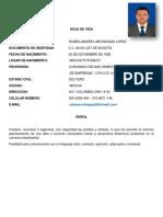 Hoja de Vida 2019 Ruben Arciniegas Lopez