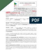 F019N-PRY(E) Modelo Contrato de Menor Cuantia
