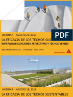 WEBINAR Techos Reflectivos y Verdes