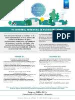 Nota de Prensa Congreso Caena 2019