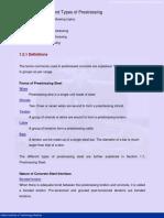 Advantages & Types of Prestressing