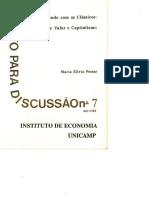 Possas, Silvia (1992) - Aprendendo Com Os Clássicos - Notas Sobre Valor e Capitalismo - TD07