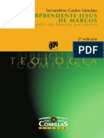 Castro Sánchez, Secundino - El sorprendente Jesús de Marcos, el evangelio por dentro.pdf