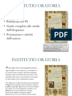 Presentazionene su INSTITUTIO ORATORIA.pptx