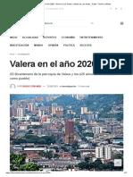 Valera en El Año 2020 - Diario de Los Andes, Noticias de Los Andes, Trujillo, Táchira y Mérida