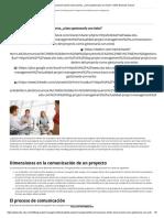 La Comunicación Dentro Del Proyecto, ¿Cómo Gestionarla Con Éxito_ _ OBS Business School