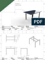 Ensamble Mesa Paneles Solares